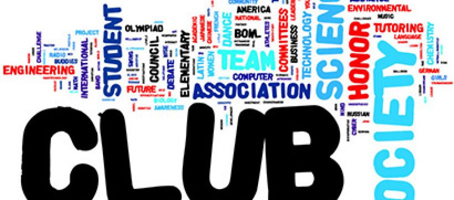 Student club activities